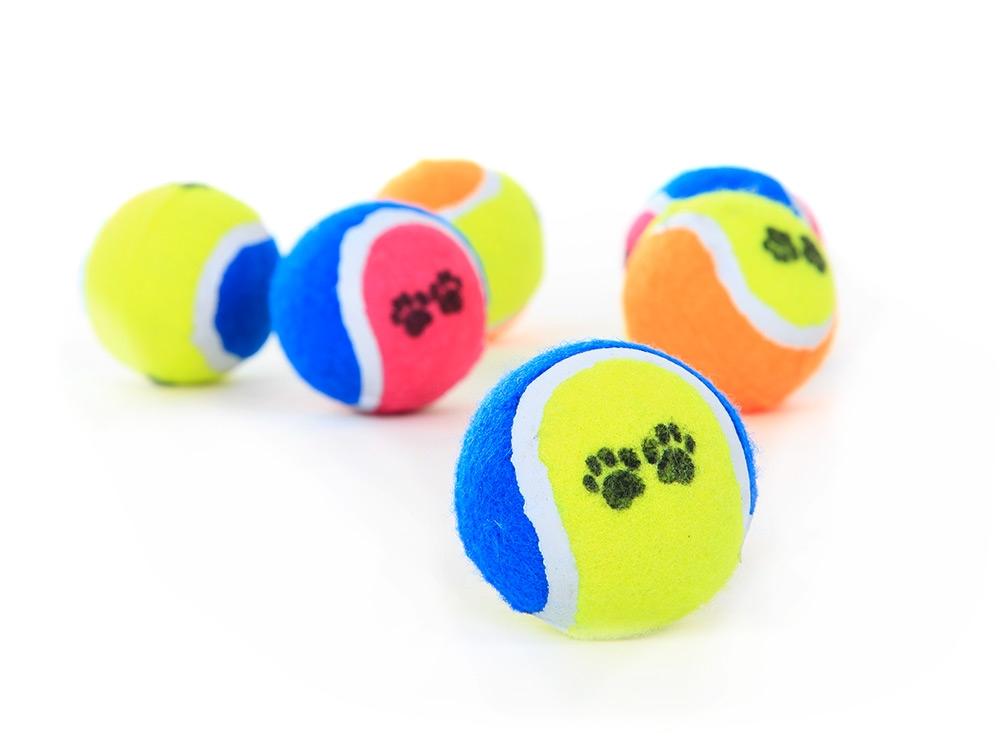 Tennisball Hundeball ø 6 cm