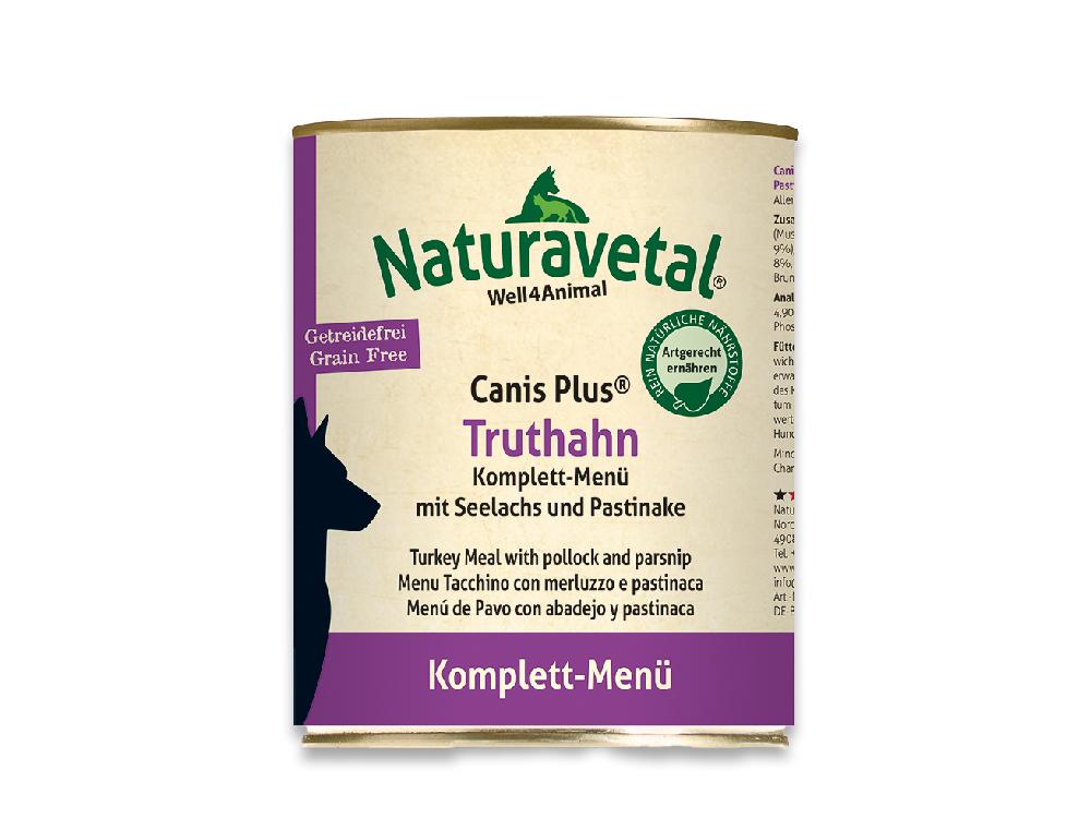 Naturavetal Canis Plus Truthahn Komplett-Menü