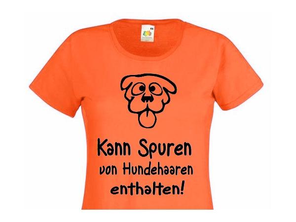Damen T-Shirt mit Funmotiv