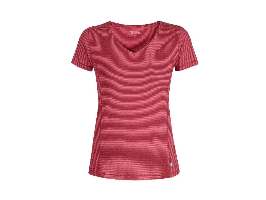 Fjäll Räven Abisko Cool Damen T-Shirt ox red
