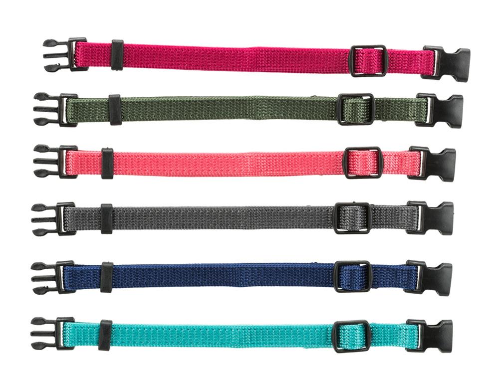 Hundehalsbänder für Welpen - helle Farben