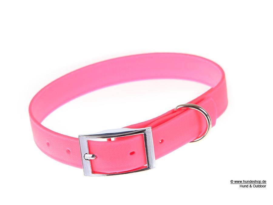 Relaxoo Biothane Hundehalsband pink 19mm breit