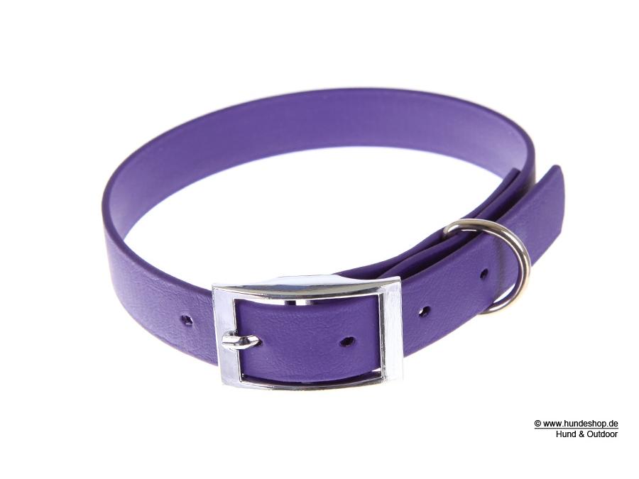 Relaxoo Biothane Hundehalsband violett 16mm breit