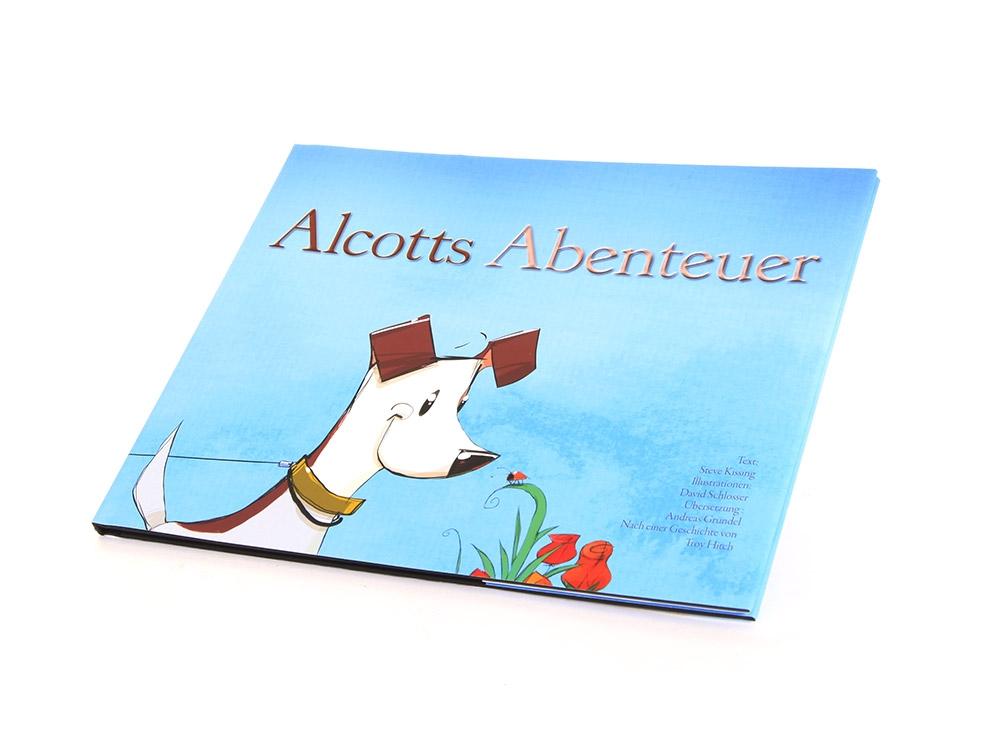 """Bilderbuch """"Alcotts Abenteuer"""""""