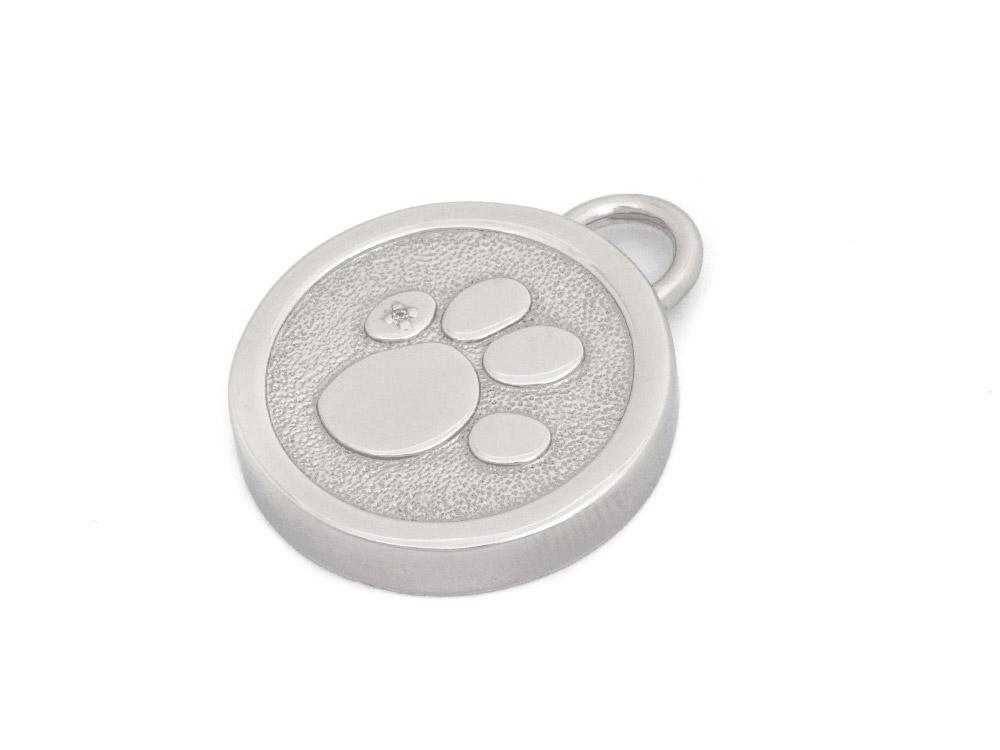 Magnetix Wellness Hundehalsband Anhänger Pfote