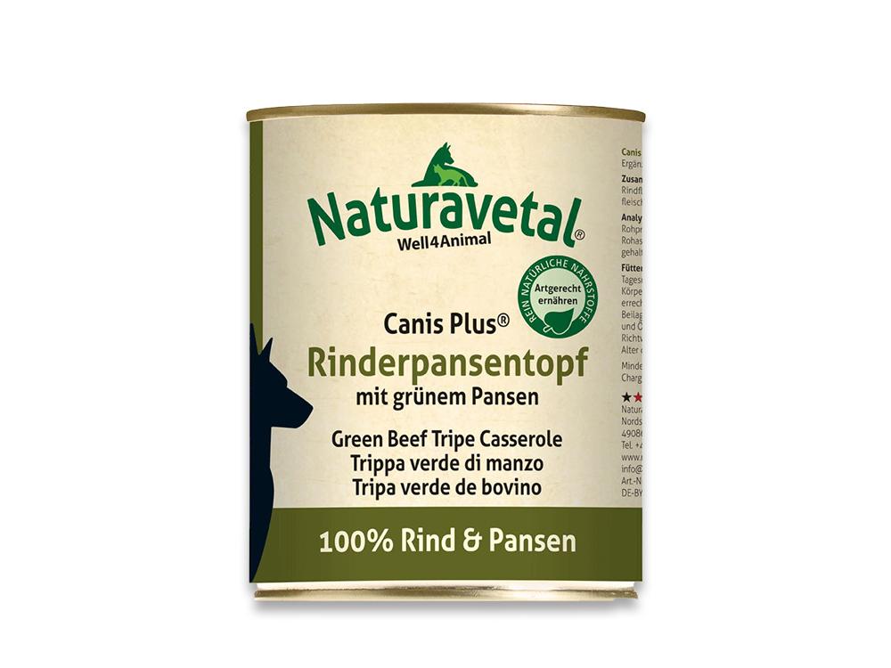 Naturavetal Canis Plus Rinderpansentopf