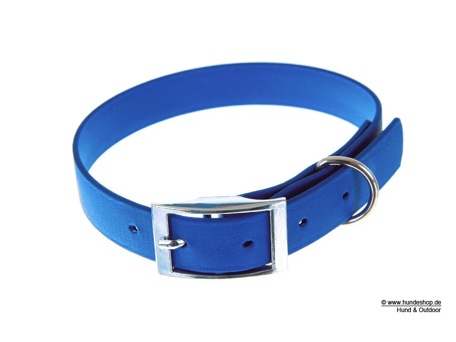 Relaxoo Biothane Hundehalsband dunkelblau 16mm breit
