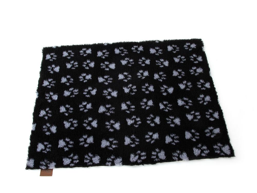 Vetbed™ Isobed SL -Paw- schwarz 100 x 75cm 100 x 75cm