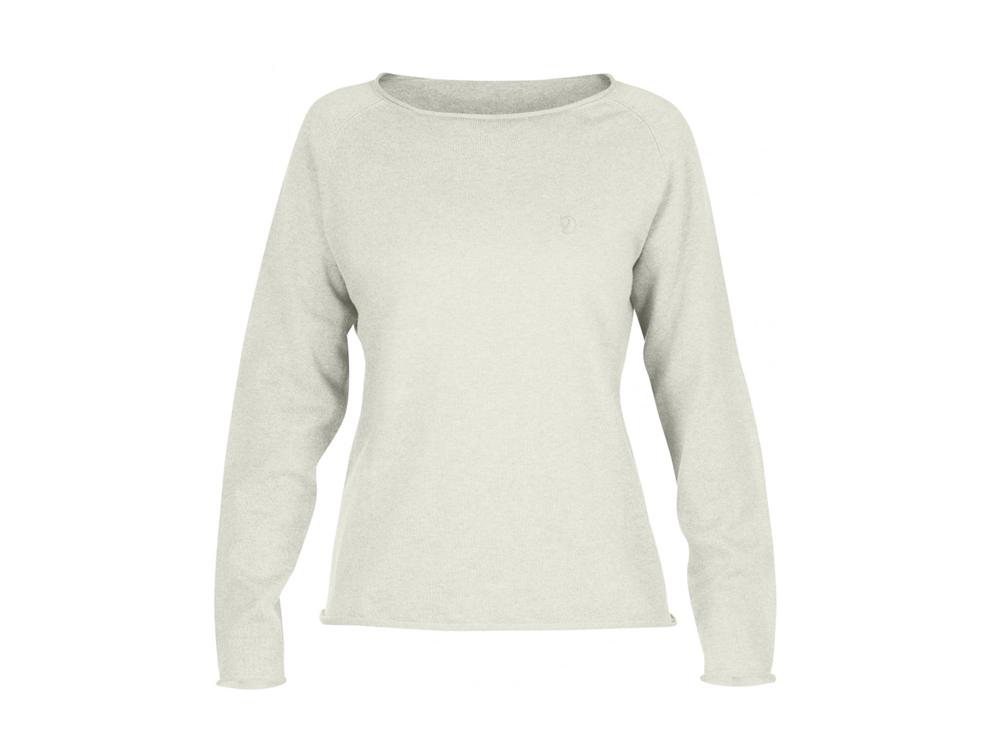 Fjäll Räven Övik Sweater Damen ecru