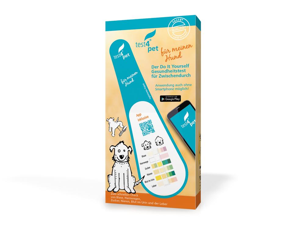 Test4pet Gesundheitstest für Hunde