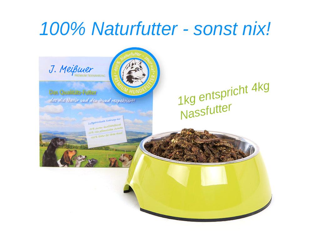 BALF Premium Hundefutter Pferd mit Obst/Gemüse 1kg