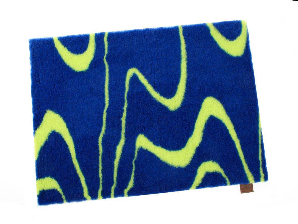 Original Vetbed™ Isobed SL royal-lime-wave 100 x 75cm 100 x 75 cm