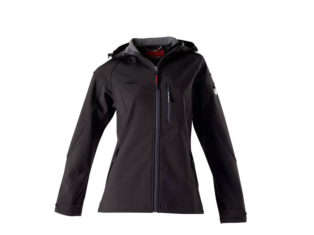 Owney Cerro Softshell Jacke schwarz