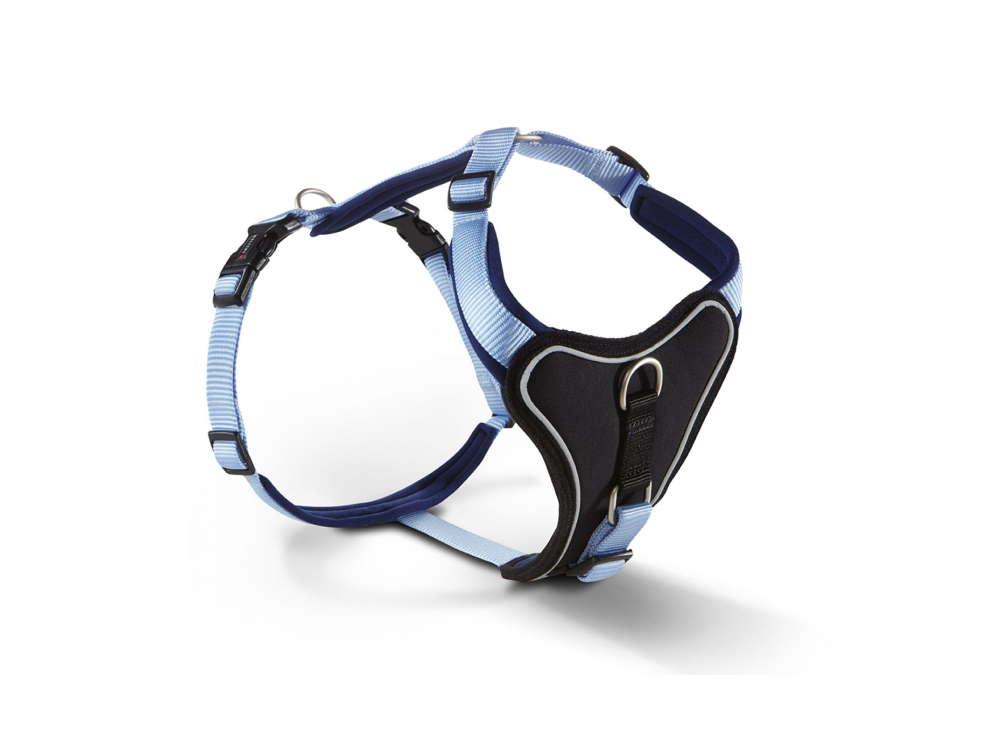 Wolters Hundegeschirr Professional Comfort hellblau/marineblau