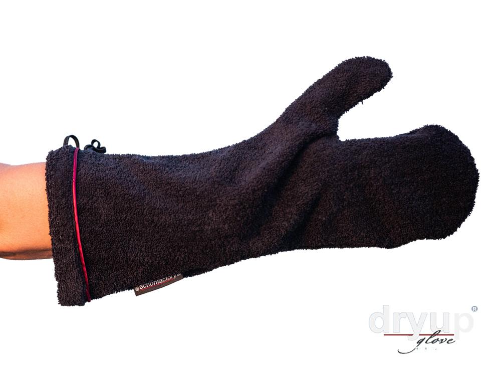 Dryup Glove Frotteehandschuh mit Armschutz