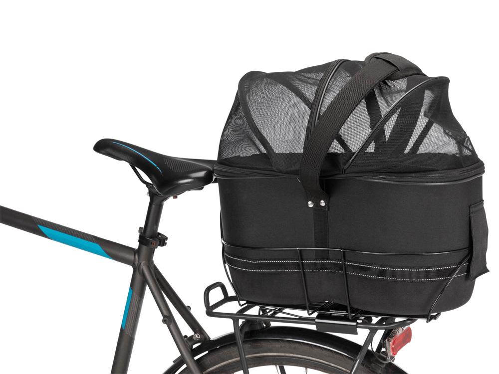 Fahrrad Transportbox für schmale Gepäckträger