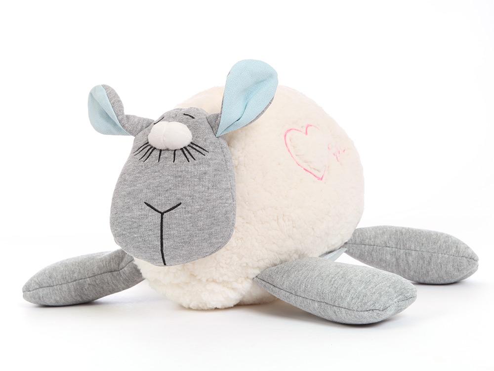 Plüsch Herzschlag-Schaf
