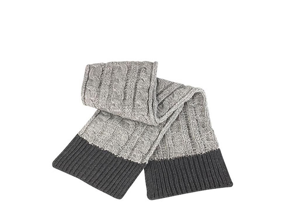 Winter Schal unisex Shades of Grey