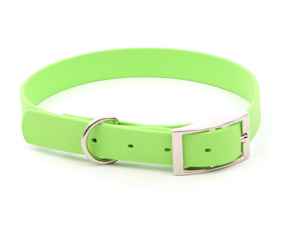 Relaxoo Biothane Hundehalsband apple green 19mm breit