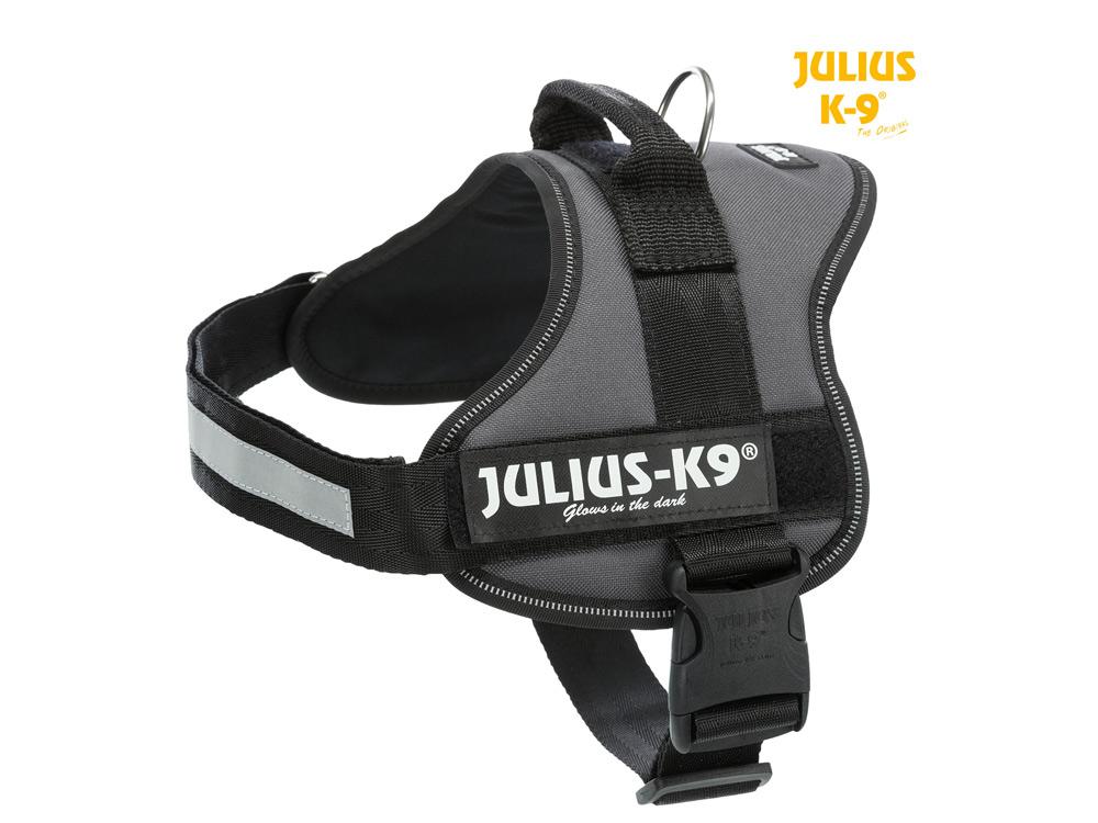 Julius K9 Power Hundegeschirr anthrazit
