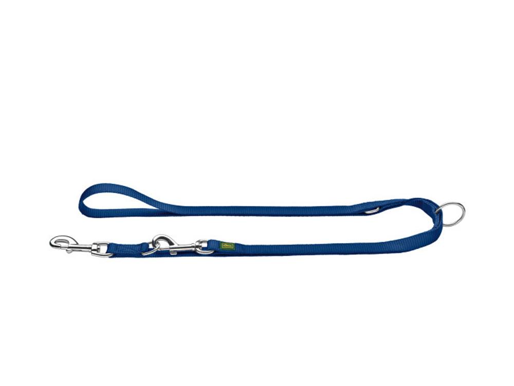 Hunter verstellbare Hundeleine Nylon Strong marine 25/200