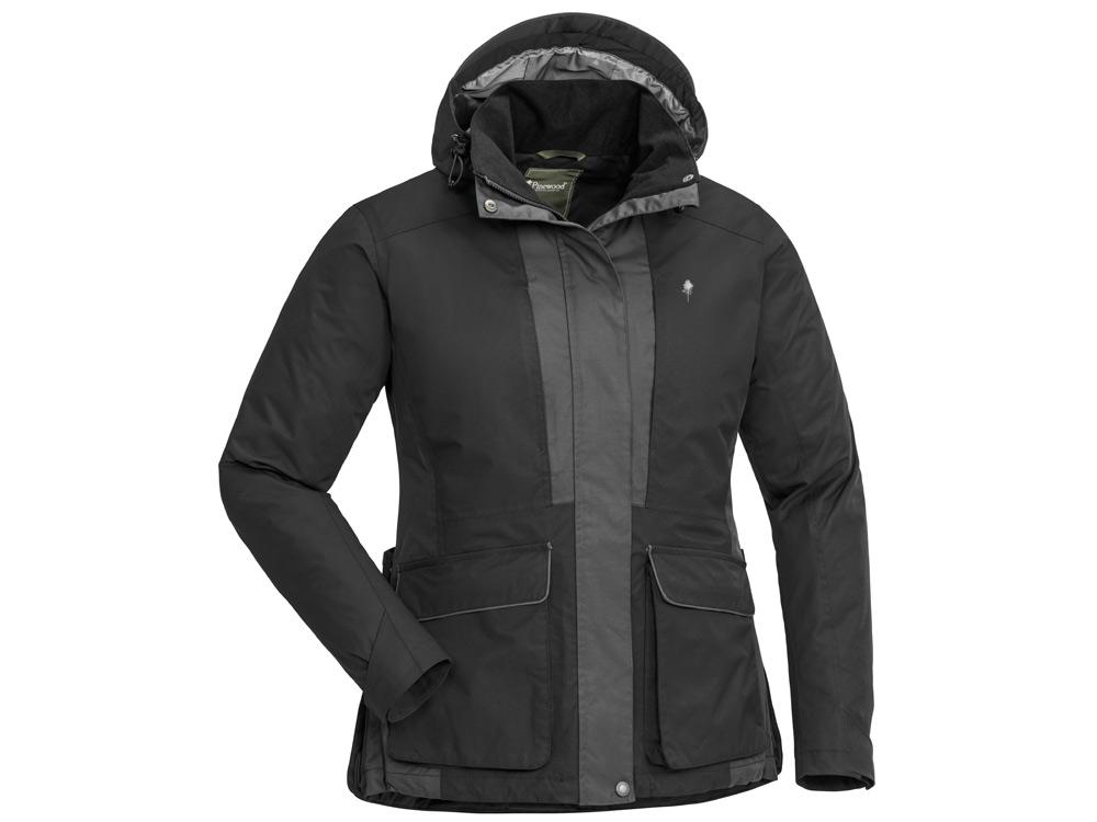 Pinewood® Dog Sports 2.0 Damen Jacke schwarz/anthrazit