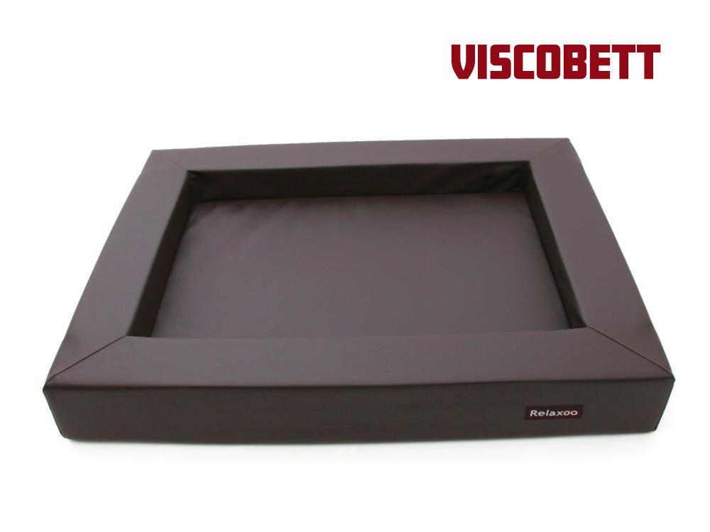 Relaxoo Viscobett Hundebett V2 -XL- braun