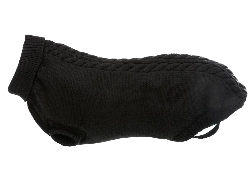 Hundepullover Strick Kenton schwarz