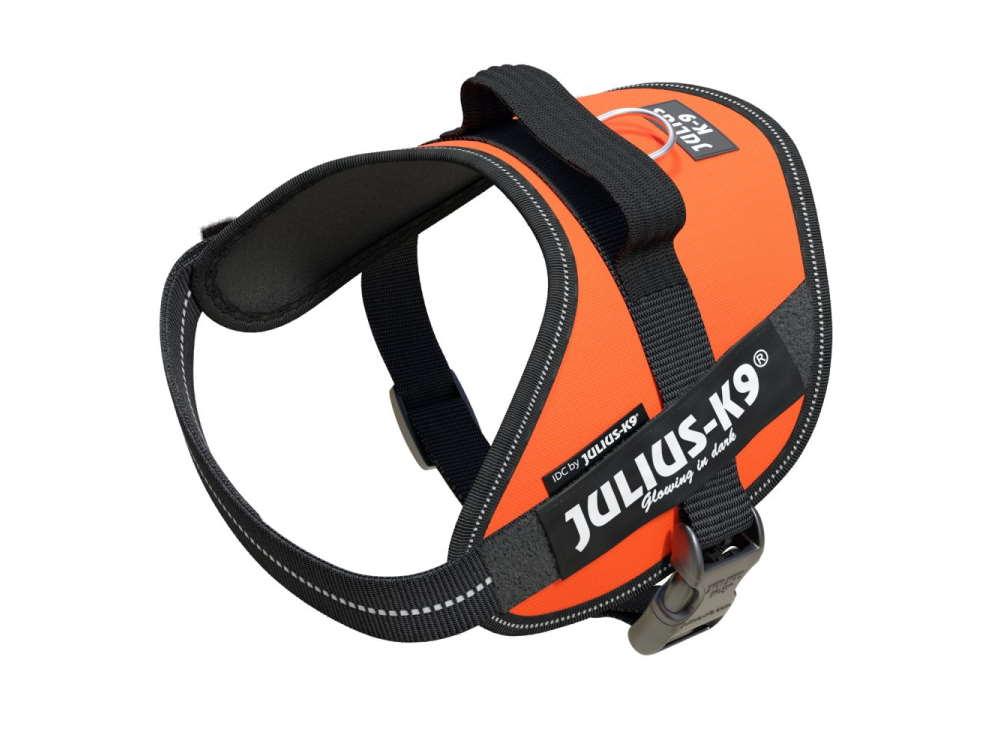 Julius K9 IDC Power Hundegeschirr High Visibility Neon-Orange