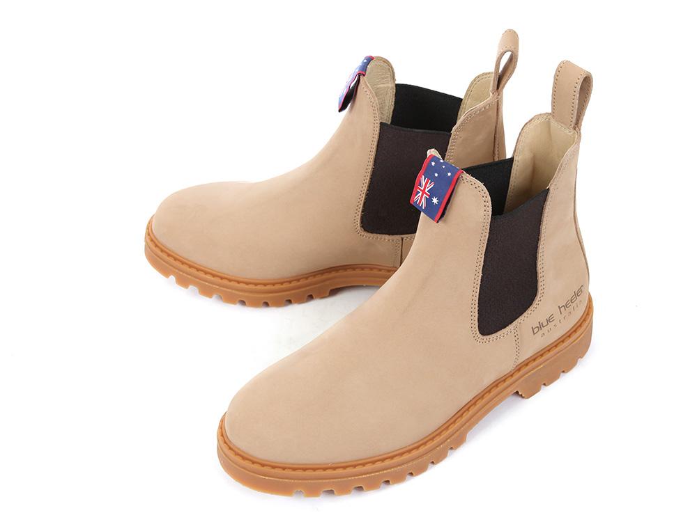 Blue Heeler Hamilton Chelsea Damen Boot beachsand/brown