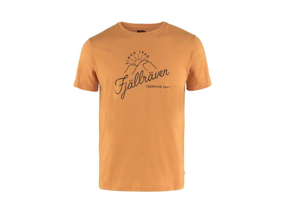 Fjäll Räven Sunrise Herren T-Shirt Spicy Orange