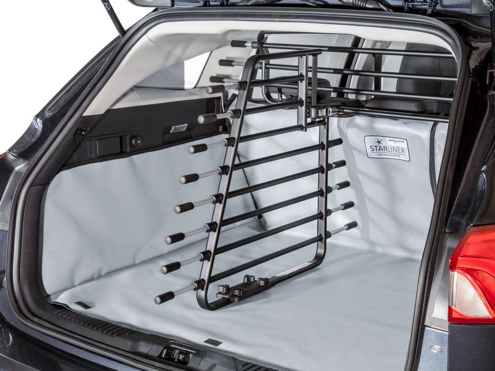 Kleinmetall Kofferraumteiler deLuxe zum Roadmaster Autogitter (nicht enthalten)