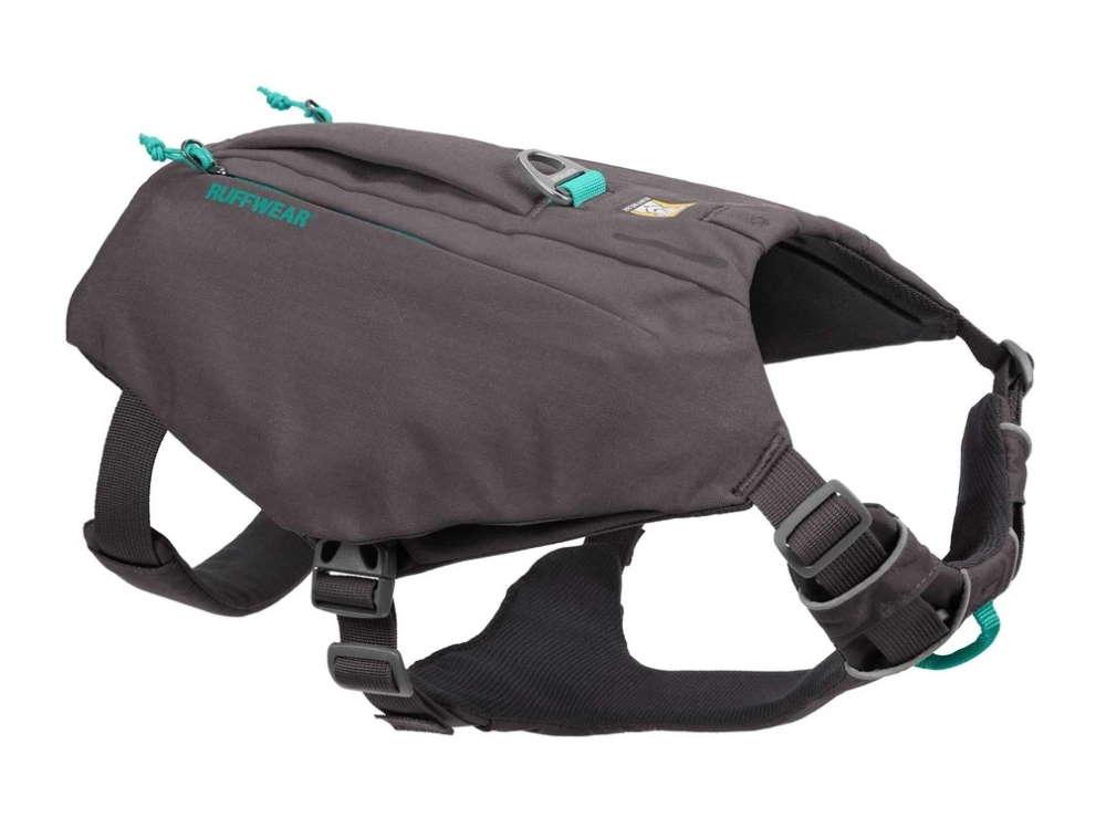 Ruffwear Switchbak Hundegeschirr mit Taschen Granite Gray