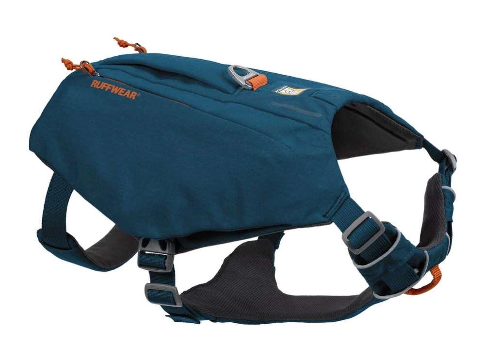 Ruffwear Switchbak Hundegeschirr mit Taschen Blue Moon