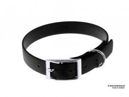 Relaxoo Biothane Hundehalsband schwarz 19mm breit