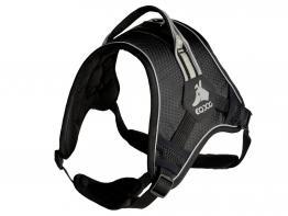 EQDOG Classic Harness schwarz/reflect