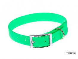 Relaxoo Biothane Hundehalsband neongrün 16mm breit