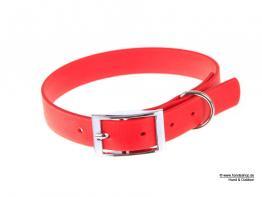 Relaxoo Biothane Hundehalsband rot 16mm breit