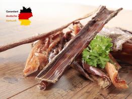 100% heimisch Dörrfleisch/Rinderkopfhaut 750 g