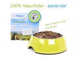 BALF Premium Hundefutter Rind mit Kräutern 1kg