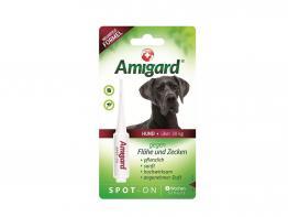 Amigard Spot-on gegen Zecken und Flöhe über 30 kg Körpergewicht