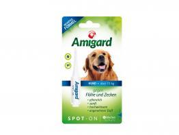 Amigard Spot-on gegen Zecken und Flöhe über 15 kg Körpergewicht