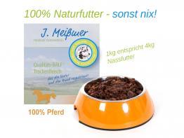 BALF Premium Trockenfleisch 100% Pferd 1kg
