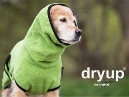 Dryup Cape Hundebademantel kiwi