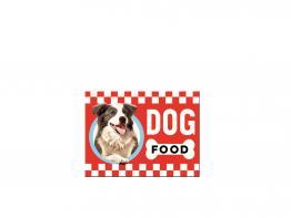 Kühlschrankmagnet Dog Food