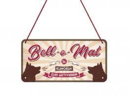 Pfotenschild mit Kordel Bell-o-Mat