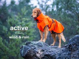 Active Cape Wind & Rain orange