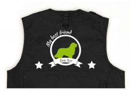 Berner Sennenhund Hundesport Weste schwarz Best Friend
