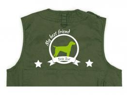 Dalmatiner Hundesport Weste oliv Best Friend