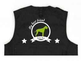 Rhodesian Ridgeback Hundesport Weste schwarz Best Friend